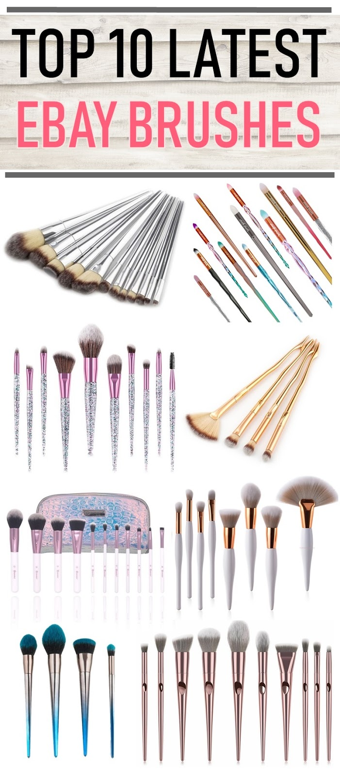Top 10 eBay Makeup Brushes 2019