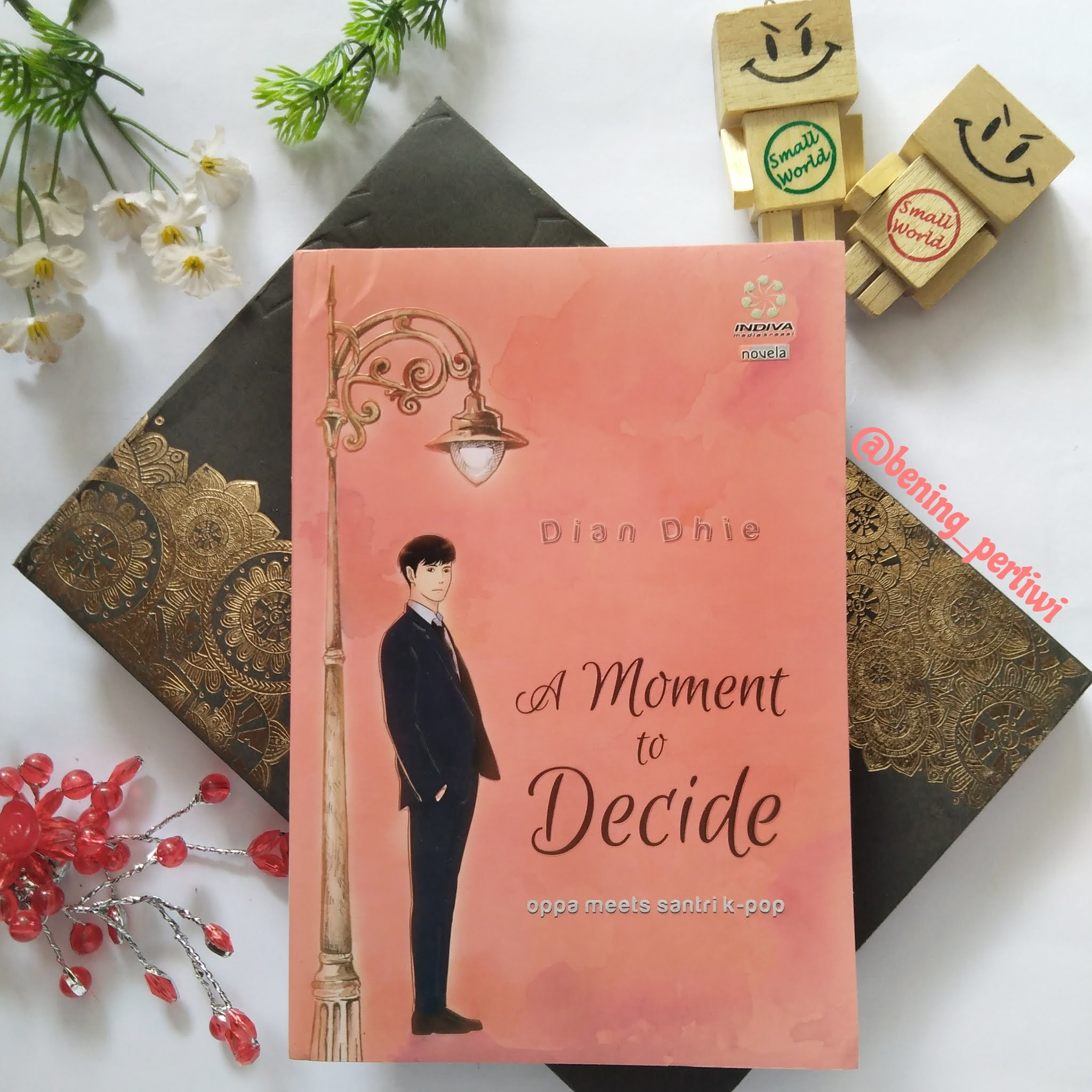 Sampul novel moment to decide