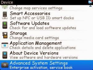 Cara melakukan HRT_Advance Option OS 6 dan OS 7