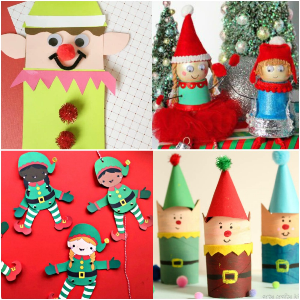 - 20 Easy And Fun Elf Crafts For Kids To Make This Christmas