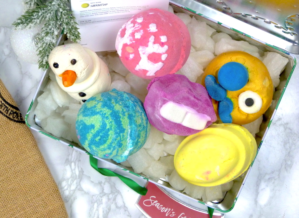 an image of Lush Seasons Greetings Gift Set 2017