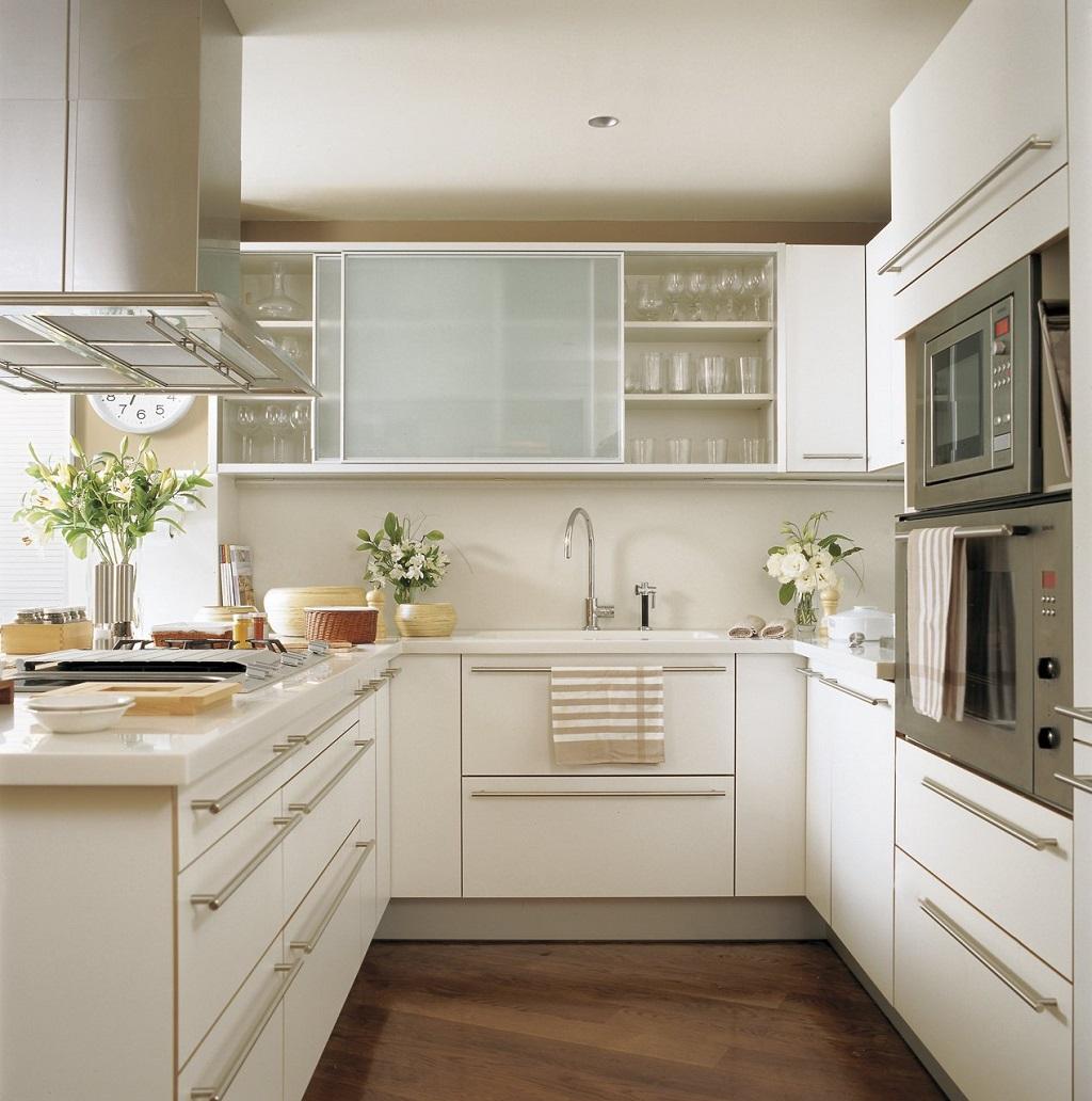 24 Fotos de cozinhas estreitas cheias de charme ~ Decoração e Ideias  #906D3B 1024 1032