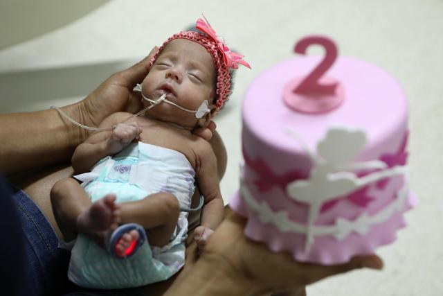 Projeto de humanização promove mesversário na UTI neonatal do Hospital Regional de Ceilândia