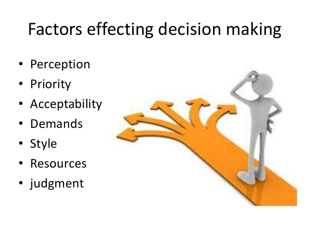 week 2: how we make decisions: are we in control of our decision making? What factors influence decision-making in the face of injustice under what conditions are most people likely to feel more responsible for helping others what factors reduce feelings of personal responsibility.