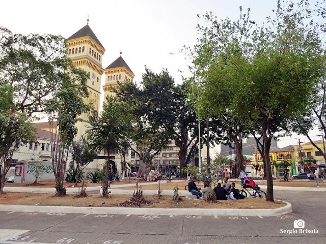 Vista ampla da Praça Padre Bento - Pari - São Paulo