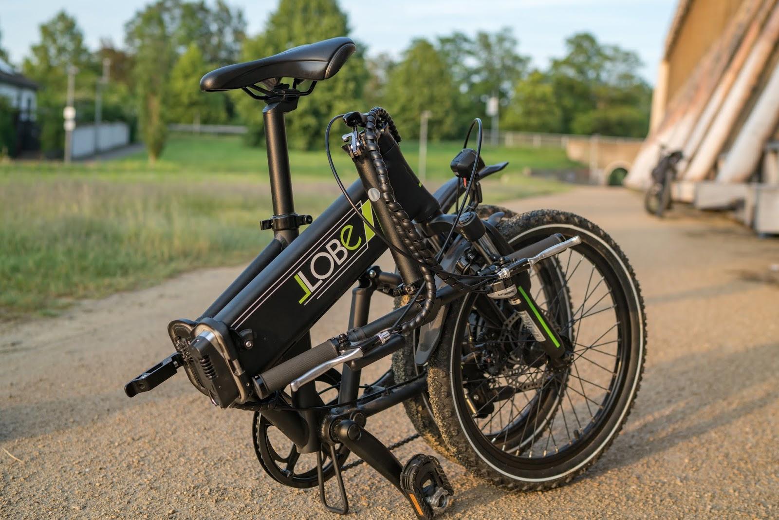 llobe e bike city 3 kompaktes 20 falt e bike f r unterwegs. Black Bedroom Furniture Sets. Home Design Ideas