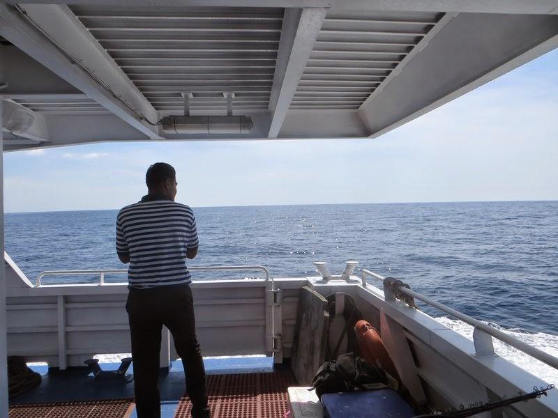 Матрос на палубе