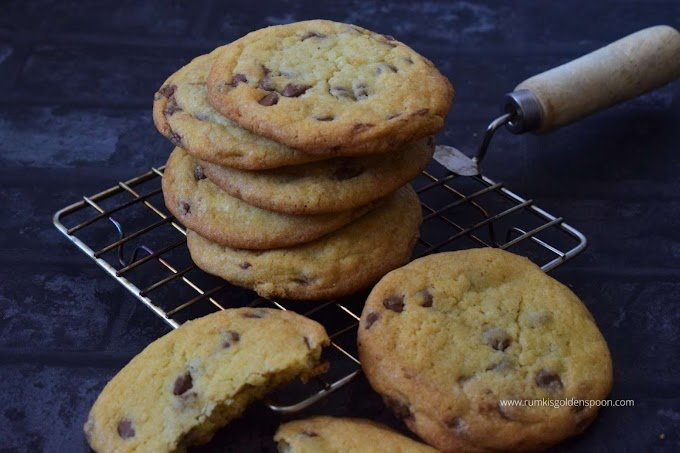 Chocolate chip cookies without brown sugar | Easy chocolate chip cookies recipe