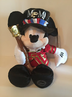 disney store europe mickey mouse beefeater england plush soft toy new with tags