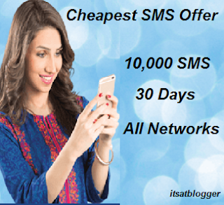 Warid Cheapest Monthly SMS Offer