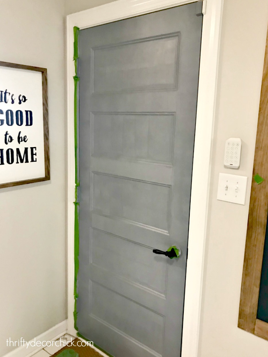 One thing you must door before painting your doors