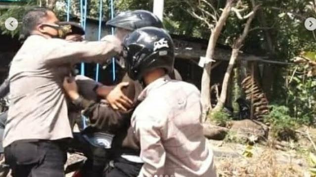 Insiden Anggota Polisi Jotos Mahasiswa Berakhir Damai, Kapolres Ponorogo Minta Maaf