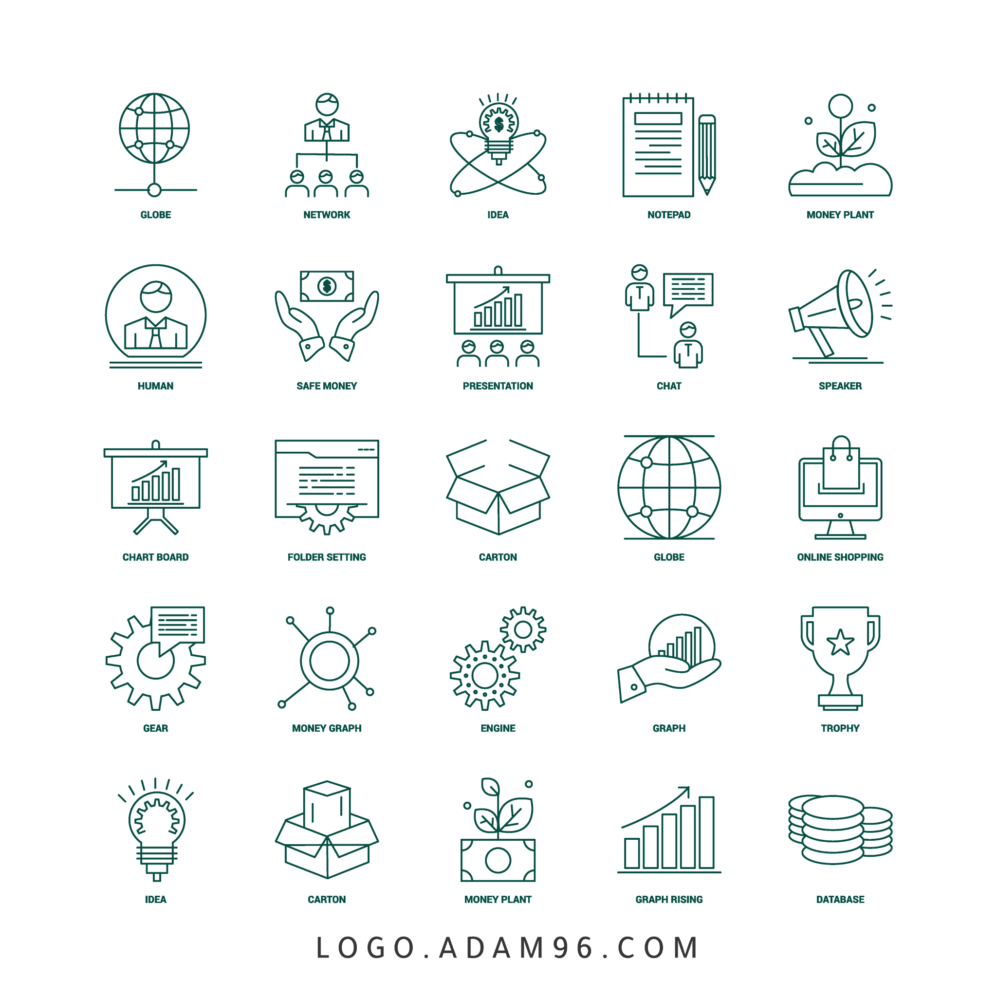 Download Business Icons PNG