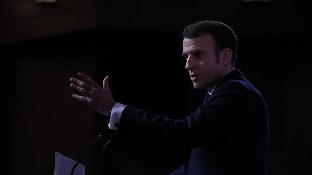 الرئيس الفرنسي: لا يمكن أن تكون أوروبا مجرد هامش في قضاية الدفاع والقوة