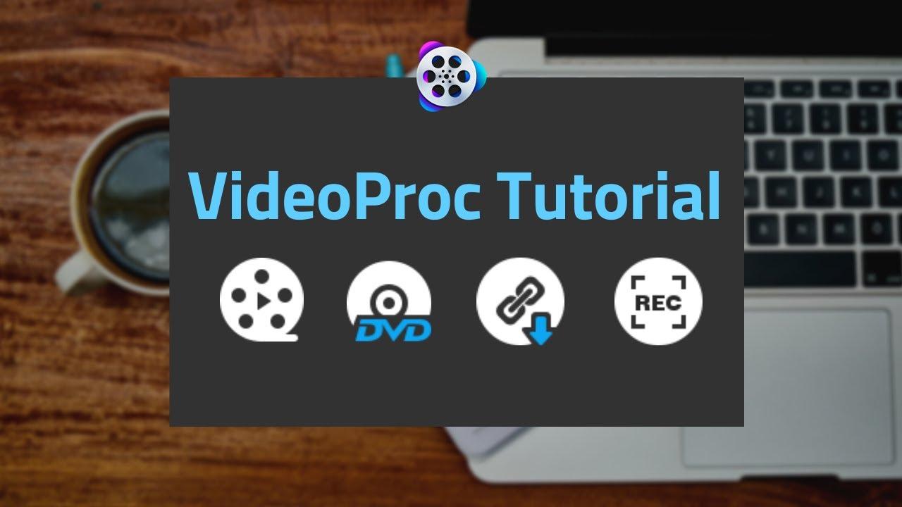 VideoProc Tutorials for DJI video editing