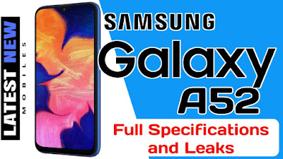 Samsung Galaxy A52 Specifications