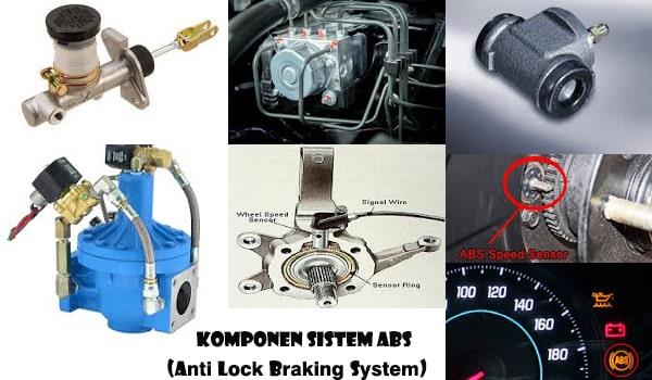Inilah 7 Komponen Penting Rem ABS dan Fungsinya