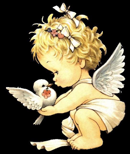 imágenes en png, tubes ángeles