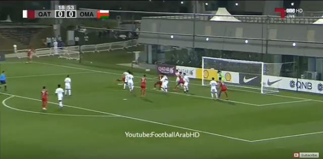 أهداف مباراة قطر 2-2 عمانالتصفيات المؤهلة لكأس آسيا واولمبياد طوكيو