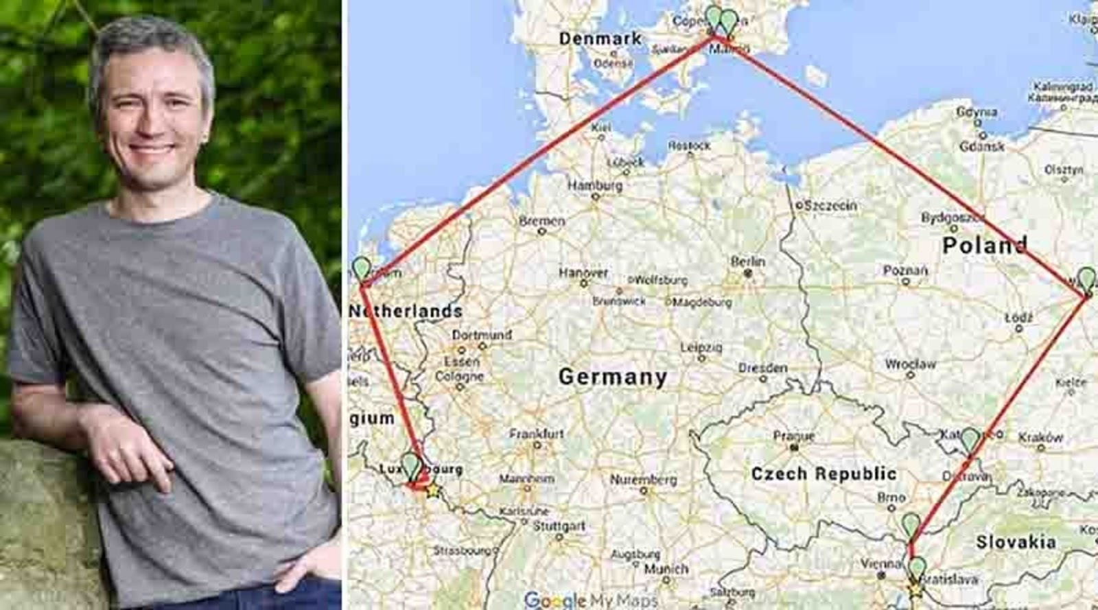 Man Sets New World Record After Traveling to TWELVE Countries in 24 Hours