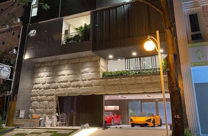 'Ngất ngây' với căn hầm toàn siêu xe cực đỉnh của doanh nhân Cường Đô la
