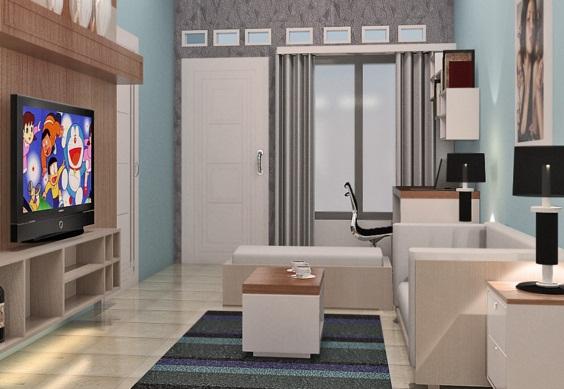 Model Desain Ruang Tamu Rumah Minimalis Terbaru Type  Model Desain Ruang Tamu Rumah Minimalis Terbaru Type 36