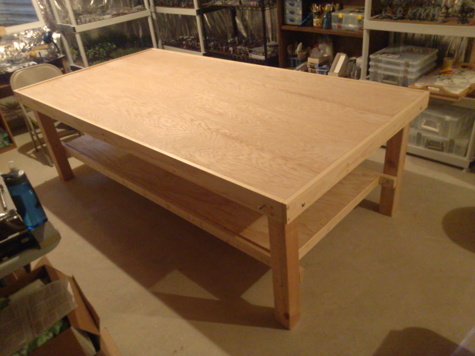 what s on your table an 8x4 custom gaming table faeit 212