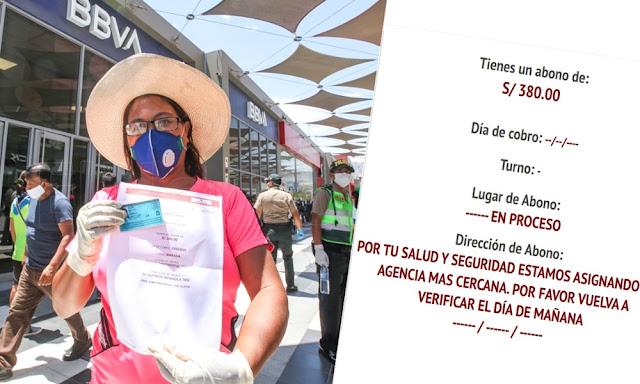 Consulta online de Bono 380 soles: Midis pide a las familias beneficiarias esperar la programación CONSULTA AQUÍ