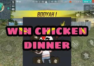 Chicken dinner in ff