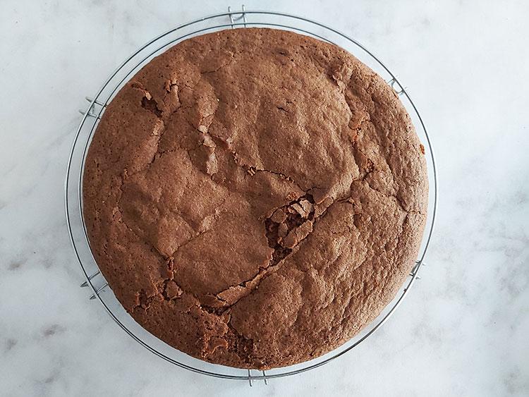 Moelleux au chocolat cuit