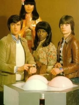 Original cast photo for British TV series The Tomorrow People