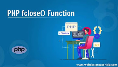 PHP fclose() Function