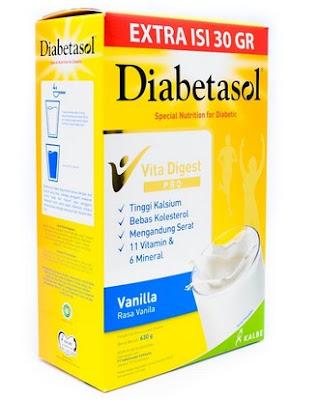Harga Diabetasol Susu Diabetes Terbaru 2017