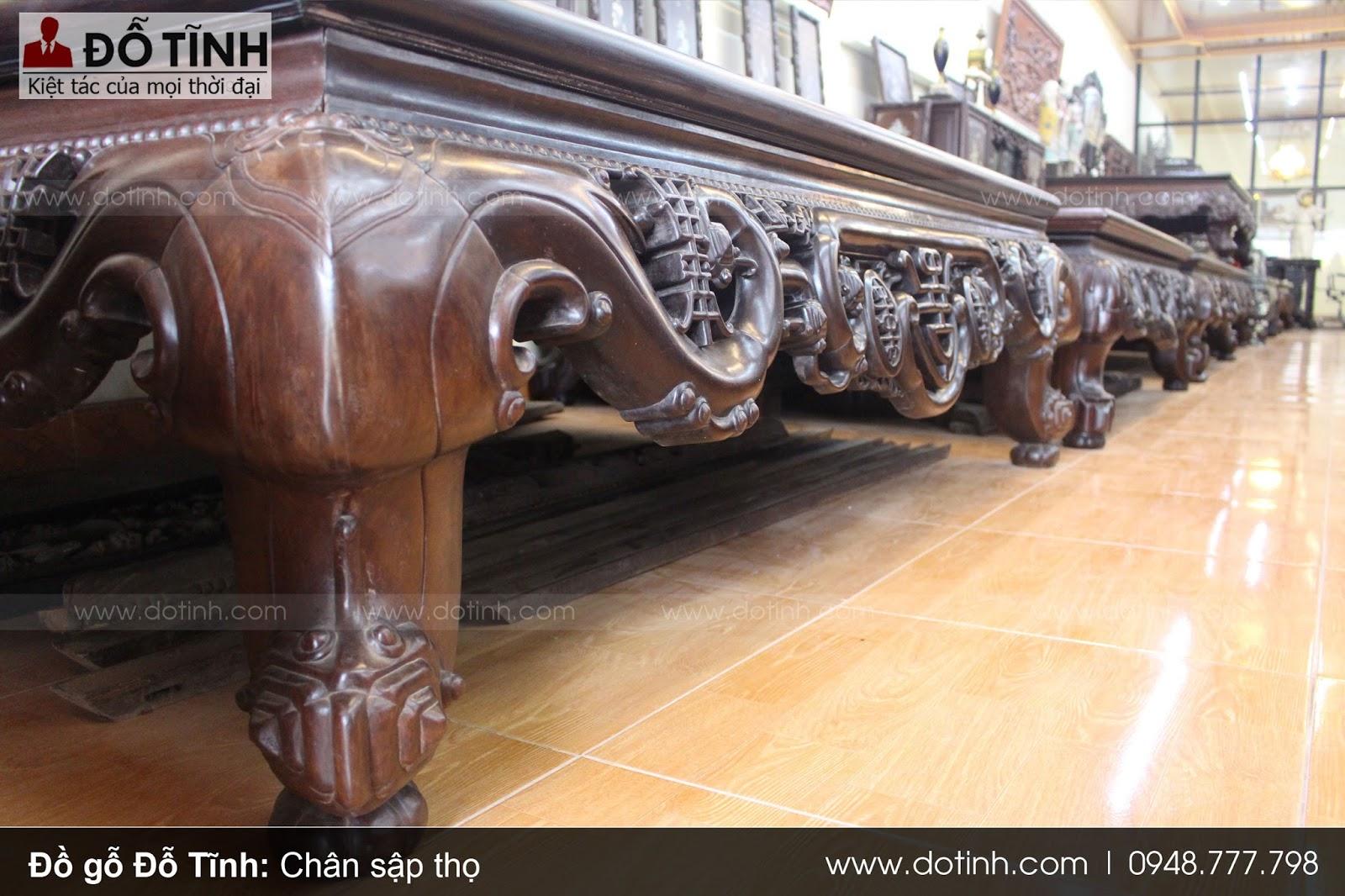 Tổng hợp mẫu chân sập gỗ đẹp được nhiều người yêu thích