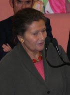 L'inauguration de l'Espace Simone Veil à Saint-Avertin le 26 mars 2005