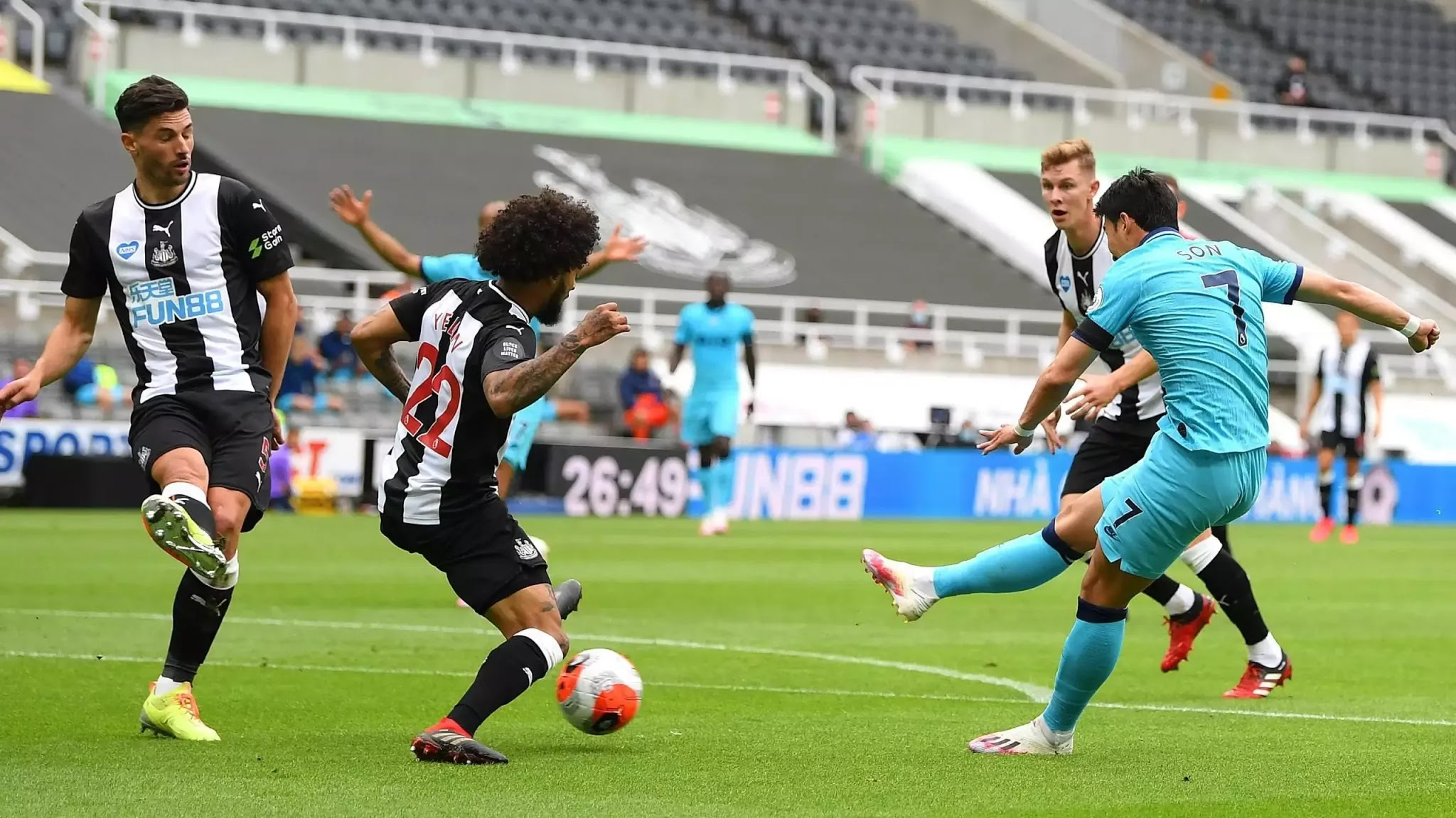 موعد مباراة توتنهام هوتسيبر ونيوكاسل يونايتد ضمن مواجهات الدوري الانجليزي
