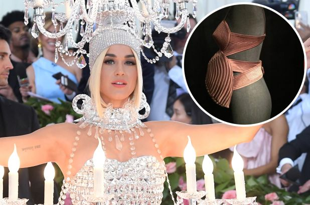 Katy Perry shares outfit she would have worn to the Met Gala