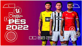 Download PES 2022 PPSSPP TM Arts 2K Hairs English Commentary Graphics Real Faces & Latest Transfer