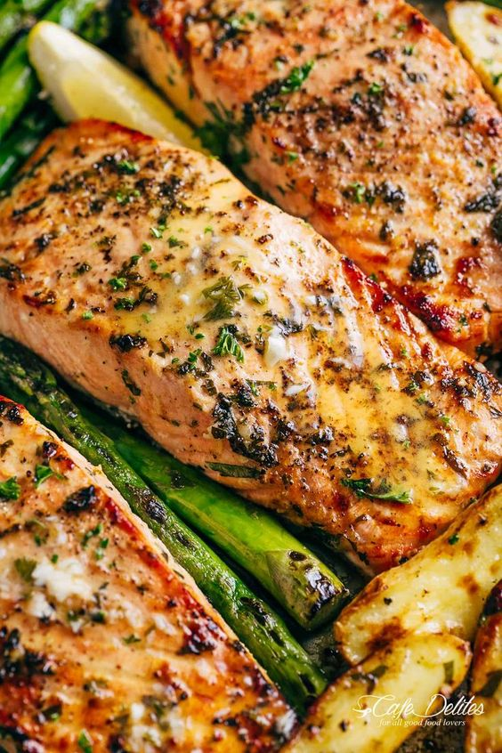 Garlic Butter Baked Salmon #recipes #dinnerrecipes #dinnerideas #newdinnerrecipes #newdinnerideas #newdinnerrecipeideas #food #foodporn #healthy #yummy #instafood #foodie #delicious #dinner #breakfast #dessert #lunch #vegan #cake #eatclean #homemade #diet #healthyfood #cleaneating #foodstagram