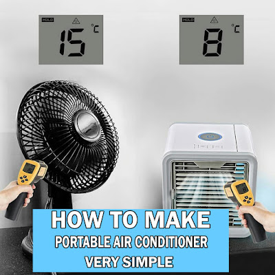 DIY portable air conditioner ideas, how to make diy portable air conditioner