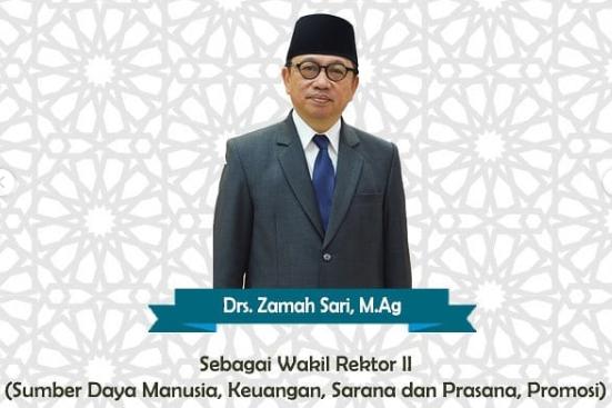 Terpilihnya Drs. Zamah Sari, M.Ag Sebagai Wakil Rektor II UHAMKA