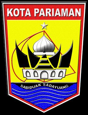 Logo Kabupaten Kota Logo Kota Pariaman Sumatera Barat
