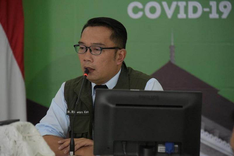 Ridwan Kamil Optimistis PSBB Jabar Tekan Persebaran COVID-19
