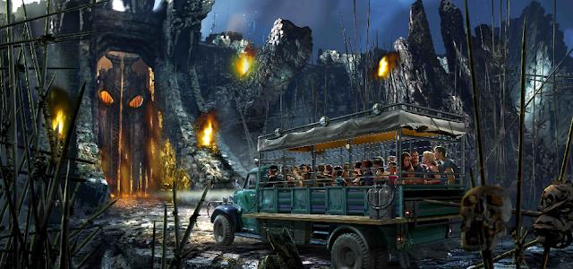 Como é a nova atração do King Kong na Universal Studios em Orlando?