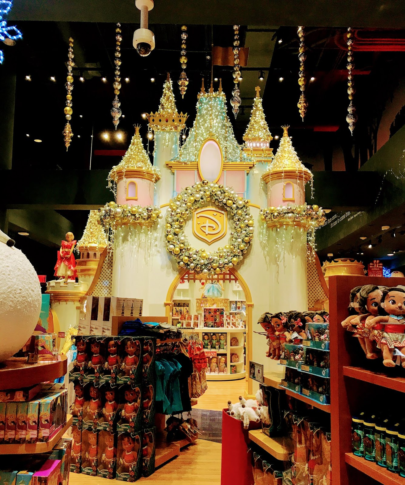 Castle at Disney Store