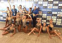 Ασημένιο μετάλλιο για την εθνική ομάδα συγχρονισμένης κολύμβησης Κορασίδων στο Μεσογειακό κύπελλο