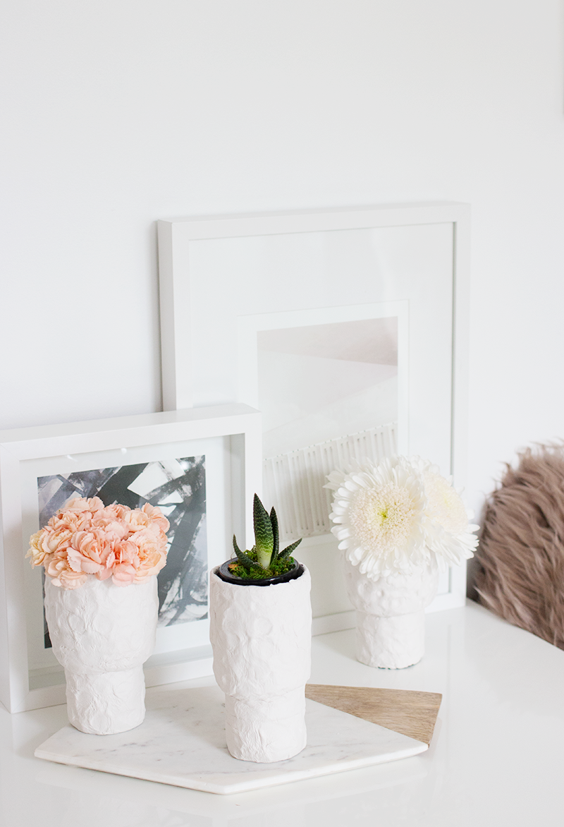 How to Make Air-Dry Clay Vases