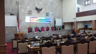 Rapat Paripurna DPRD Kab Cirebon Bahas RPJMD