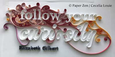 quilling paper letters