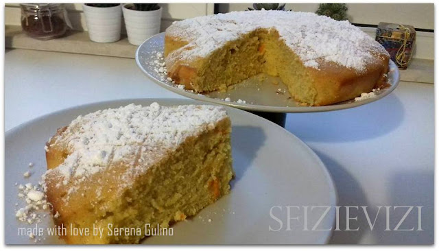 torta da colazione all'arancia (scorzetta d'arancia e succo)